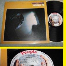 Discos de vinilo: RICHARD GROOVE HOLMES - AMERICAN PIE 73 - 1º PRENSAJE KILER HAMMOND B3 GROOVE, ORG UK - IMPECABLE. Lote 99515031