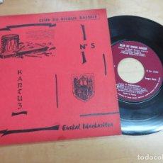 Discos de vinilo: KANTUZ Nº 5 CLUB DU DISQUE BASQUE EUSKAL IDAZKARITZA . Lote 99522687