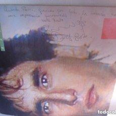 Discos de vinilo: BROZA LP MADE IN ISRAEL CANCIONES EN HEBREO Y EN ESPAÑOL FIRMADO Y DEDICADO POR EL AUTOR 1984. Lote 99524391