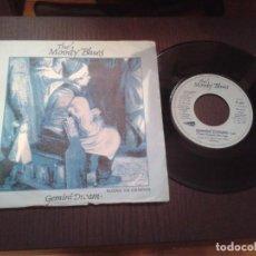 Discos de vinilo: DISCO SINGLE THE MOODY BLUES,GEMINI DREAM. Lote 99539871