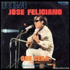Discos de vinilo: JOSE FELICIANO, QUE SERA Y DEMAS.. Lote 99543247