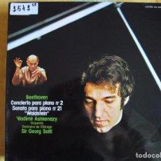 Discos de vinilo: LP - BEETHOVEN - CONCIERTO PARA PIANO Nº 2/SONATA PARA PIANO Nº 21 (VLADIMIR ASHKENAZY, PIANO). Lote 99544599