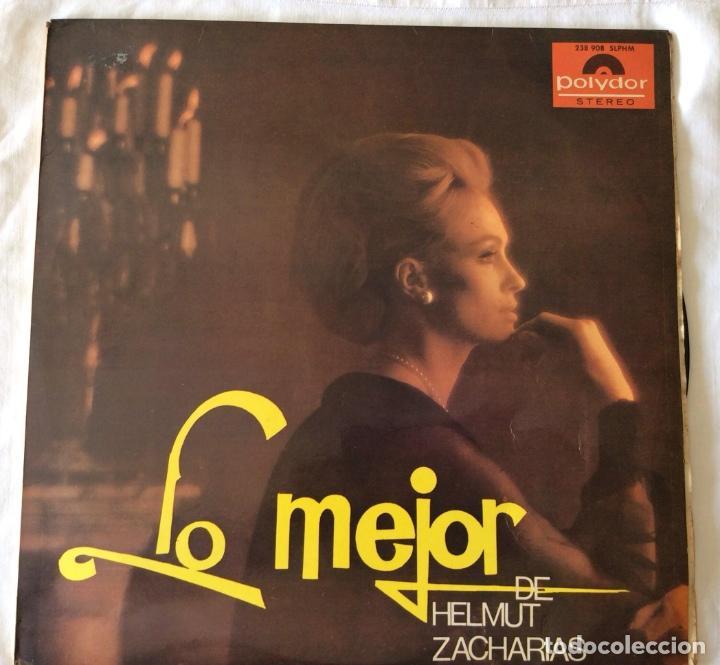 HELMUT ZACHARIAS - LO MEJOR DE HELMUT ZACHARIAS - LP (Música - Discos - LP Vinilo - Orquestas)