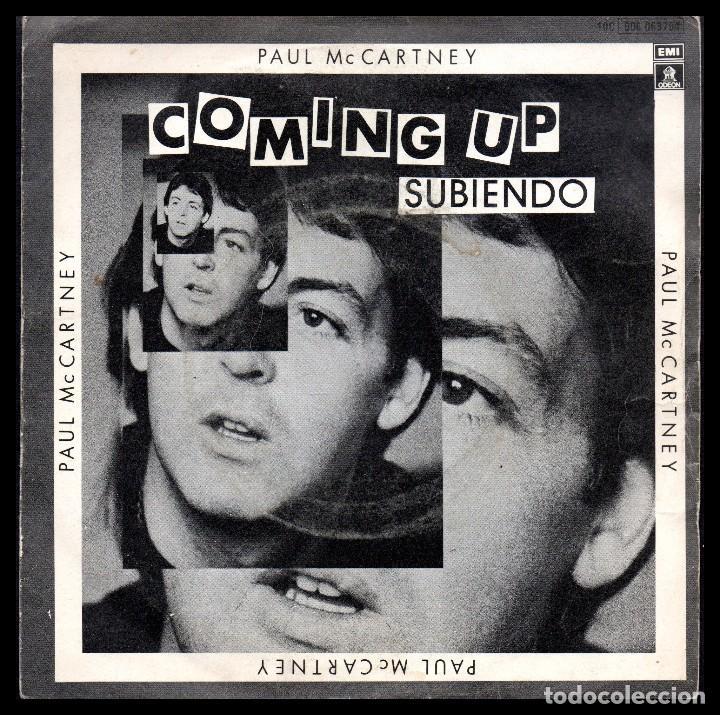 PAUL MACCARTNEY, COMING UP Y DEMAS. (Música - Discos - Singles Vinilo - Cantautores Extranjeros)