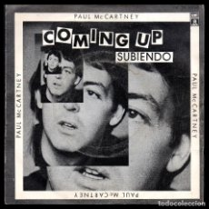 Disques de vinyle: PAUL MACCARTNEY, COMING UP Y DEMAS.. Lote 99549959