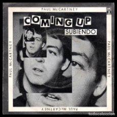 Discos de vinil: PAUL MACCARTNEY, COMING UP Y DEMAS.. Lote 99549959