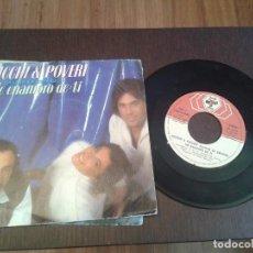 Discos de vinilo: DISCO SINGLE RICCHI E POVERI,ME ENAMORO DE TI. Lote 186763648