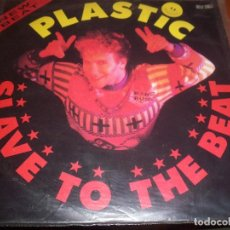 Discos de vinilo: MAXI-SINGLE DE PLASTIC BERTRAND. SLAVE TO THE BEAT. EDICION CBS DE 1989. D.. Lote 99557563
