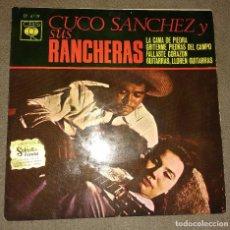 Discos de vinilo: CUCO SANCHEZ Y SUS RANCHERAS. Lote 99573091