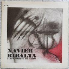 Discos de vinilo: LP JAVIER RIBALTA ALTES PARETS DE SOMNI. Lote 99575616