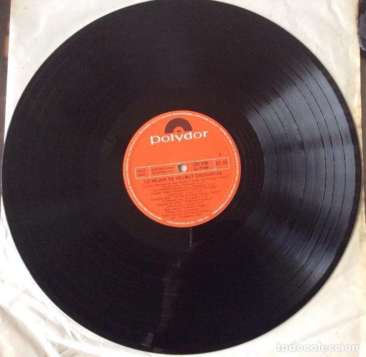 Discos de vinilo: HELMUT ZACHARIAS - LO MEJOR DE HELMUT ZACHARIAS - LP - Foto 3 - 99548983