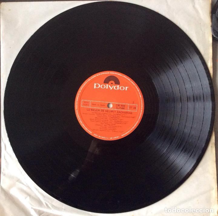 Discos de vinilo: HELMUT ZACHARIAS - LO MEJOR DE HELMUT ZACHARIAS - LP - Foto 4 - 99548983