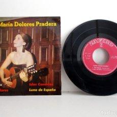 Discos de vinilo: MARÍA DOLORES PRADERA, DOS CRUCES , EP, 1962, EXCELENTE ESTADO, COLECCIONISTAS.. Lote 99639843