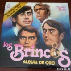 Disques de vinyle: LOS BRINCOS - ALBUM DE ORO - DOBLE 2.LP - ENVIO GRATIS A PARTIR DE 40 EUROS EN COMPR - PORTADA DOBLE. Lote 99647987
