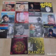 Discos de vinilo: LOTE DE 14 EPS Y SINGLES FRANCESES ITALIANOS ETC. Lote 99661979
