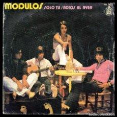 Discos de vinilo: MODULOS, SOLO TU Y DEMAS.. Lote 99671619