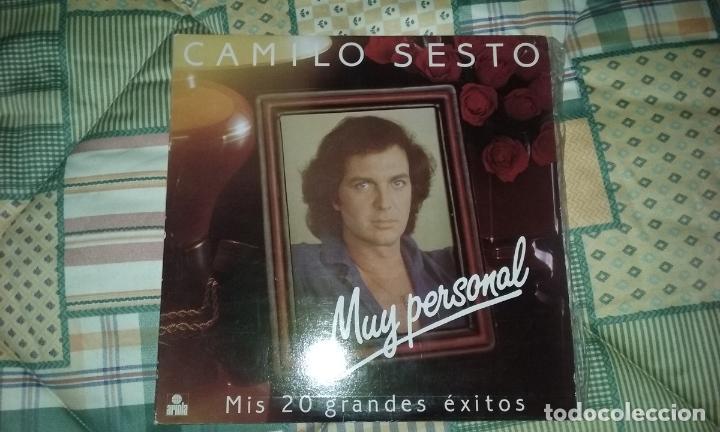 LP DOBLE CAMILO SESTO. MUY PERSONAL. ARIOLA 1982 (Música - Discos - LP Vinilo - Solistas Españoles de los 70 a la actualidad)