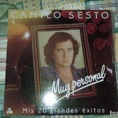 Discos de vinilo: LP DOBLE CAMILO SESTO. MUY PERSONAL. ARIOLA 1982. Lote 99673667