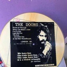 Discos de vinilo: THE DOORS ?– LONDON '68 - ITALY - PICTURE - EDICION LIMITADA. Lote 99674363