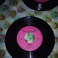 Discos de vinilo: DISCO SORPRESA. FUNDADOR. KARINA. EL SENDERO AMARILLO. LAS FLECHAS DEL AMOR. EL BAÚL DE LOS RECUERDO. Lote 99700523