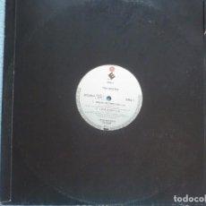 Discos de vinilo: THE DOORS,BREAK ON THROUGH Y 3 TEMAS MAS EDICION ALEMANA SIN CARATULA. Lote 99709063