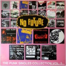 Discos de vinilo: VVAA - NO FUTURE: THE PUNK SINGLES COLLECTION VOL. 2 - 2 LP UK 1996 - CAPTAIN OI! ?AHOY DLP 512 -. Lote 99711731