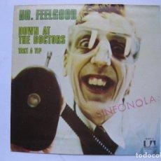 Discos de vinilo: DR. FEELGOOD - DOWN AT THE DOCTORS - SE VENDE SOLO PORTADA (SIN VINILO EN EL INTERIOR). Lote 195238130