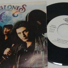 Discos de vinilo: SINGLE- ESCALONES - LA NOCHE CONTIGO / CAMBIO DE BAR - PROMO - ESCALONES. Lote 99723827