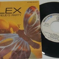Discos de vinilo - SINGLE - TELEX - PROMO - SIGMUND FREUD'S PARTY / HAVEN'T WE MET SOMEWHERE BEFORE - TELEX - 99724155