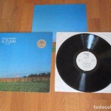Discos de vinilo: GEORGE WINSTON - AUTUMN - PIANO SOLOS - AM RECORDS - GERMANY - INC MINI POSTER - T - . Lote 99727127