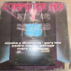 Discos de vinilo: COMPUTER MIX - ALASKA DINARAMA-PEDRO MARIN - SAVAGE - MINI LP 1985. Lote 99731535