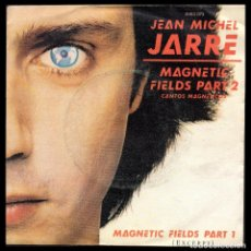Discos de vinilo: JEAN MICHEL JARRE, MAGNETIC FIELDS PART 1 Y DEMAS.. Lote 99739415