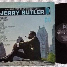 Discos de vinilo: JERRY BUTLER - '' MORE OF THE BEST OF JERRY BUTLER '' LP ORIGINAL USA. Lote 34702892