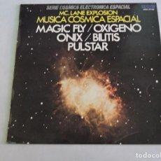 Discos de vinilo: MC LANE EXPLOSION ?– MUSICA COSMICA ESPACIAL LP 1977 SPAIN. Lote 112606942