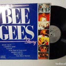 Discos de vinilo: BEE GEES ( STORY VERSION ORIGINAL ) 1991. Lote 99756071