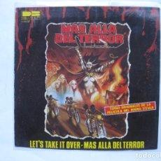 Discos de vinilo: OST MAS ALLA DEL TERROR - SE VENDE SOLO PORTADA (SIN VINILO EN EL INTERIOR). Lote 99771747
