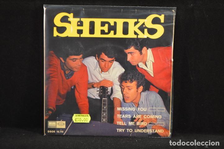SHEIKS - MISSING YOU +3 - EP (Música - Discos de Vinilo - EPs - Pop - Rock Internacional de los 70)