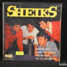 Discos de vinilo: SHEIKS - MISSING YOU +3 - EP. Lote 99782219