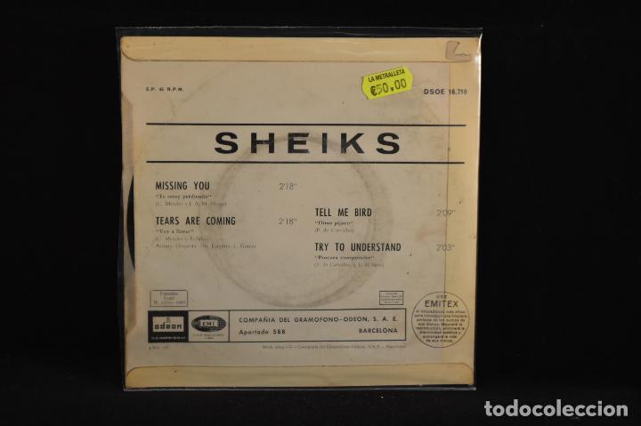 Discos de vinilo: SHEIKS - MISSING YOU +3 - EP - Foto 2 - 99782219