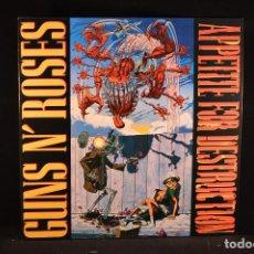 Discos de vinilo: GUNS N' ROSES - APPETITE FOR DESTRUCTION - LP REEDICION. Lote 99783755