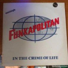 Discos de vinilo: FUNKAPOLITAN - IN THE CRIME OF LIFE. Lote 99785591