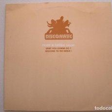 Discos de vinilo: TERRY & GREGG – WHAT YOU GONNA DO? - LE CLUB 2001 - MAXI - P. Lote 99788487
