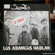 Discos de vinilo: SEXTO SENTIDO - LOS ABANICOS HABLAN. Lote 99790019