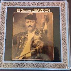 Discos de vinilo: LP EL GAITERO LIBARDON ASTURIAS FOLKLORE TONADA GAITA. Lote 99792391