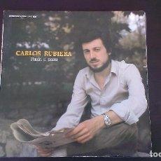 Discos de vinilo: LP CARLOS RUBIERA PASÍN A PASU FOLKLORE ASTURIANO TONADA ASTURIAS. Lote 99792967