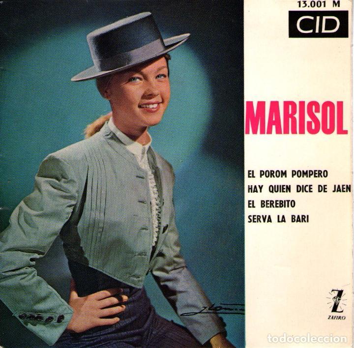 MARISOL - EP SINGLE VINILO 7'' - EL POROMPOMPERO + 3 - EDITADO EN FRANCIA - CID 1964 (Música - Discos de Vinilo - EPs - Solistas Españoles de los 50 y 60)