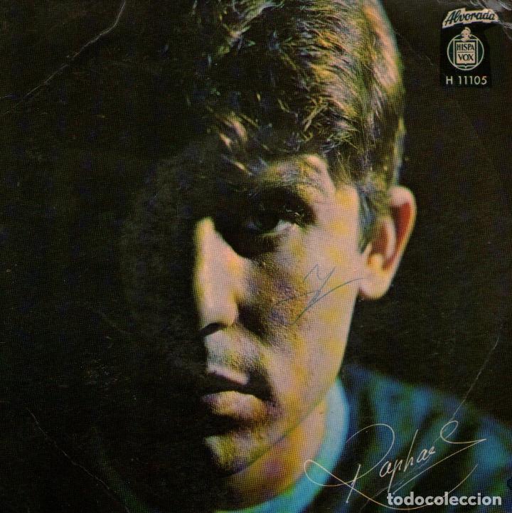 RAPHAEL - EP-SINGLE VINILO 7'' - EDITADO EN PORTUGAL - LA CANCIÓN DEL TAMBORILERO + 3 - ALVORADA (Música - Discos de Vinilo - EPs - Solistas Españoles de los 70 a la actualidad)