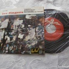 Discos de vinilo: LES FINGERS 7´EP TELSTAR+ 3 TEMAS (1963) GRUPO FRANCES INSTRUMENTAL-EDICION ESPAÑOLA-MUY BUEN ESTADO. Lote 99809815