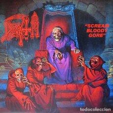 Discos de vinilo: LPLP DEATH SCREAM BLOODY GORE REED. NUEVO SIN PRECINTAR. Lote 99822331