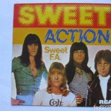 Discos de vinilo: THE SWEET - ACTION - SE VENDE SOLO PORTADA (SIN VINILO EN EL INTERIOR). Lote 195238047